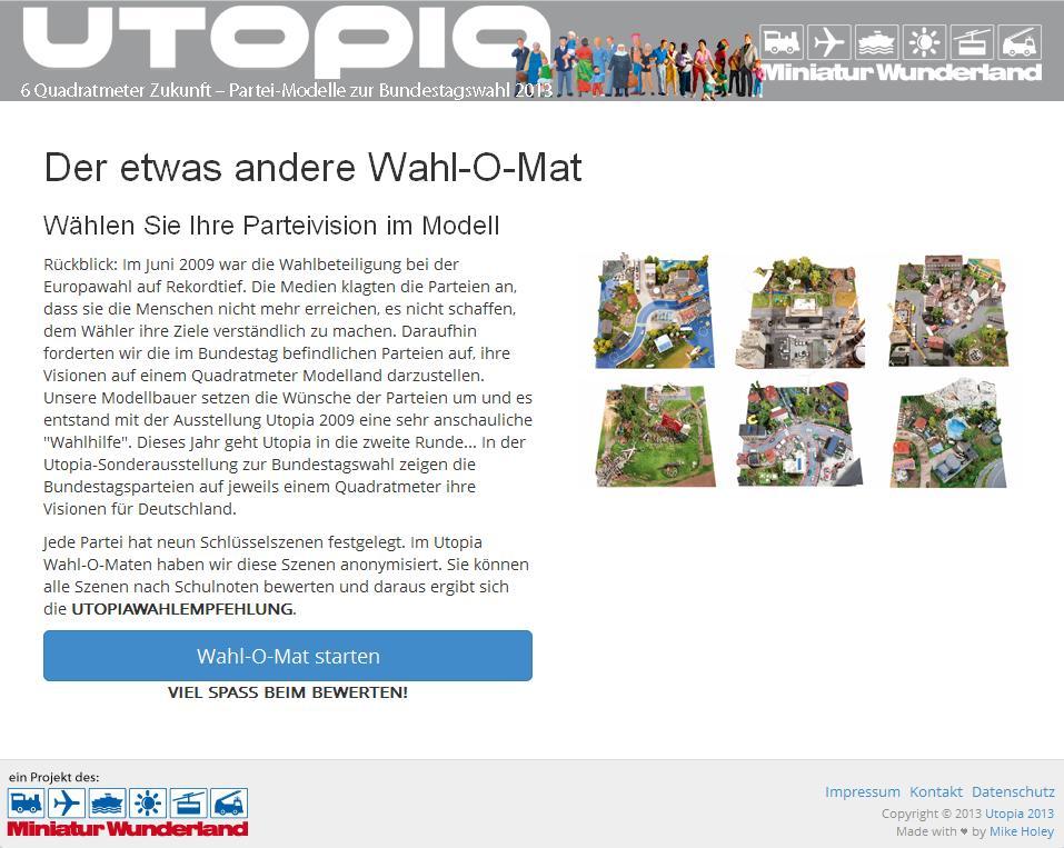 Utopia Wahlo-Mat