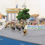 Umzug vor dem Brandenburger Tor
