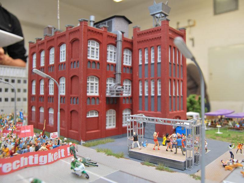 Fabrikgebäude für Veranstaltungen