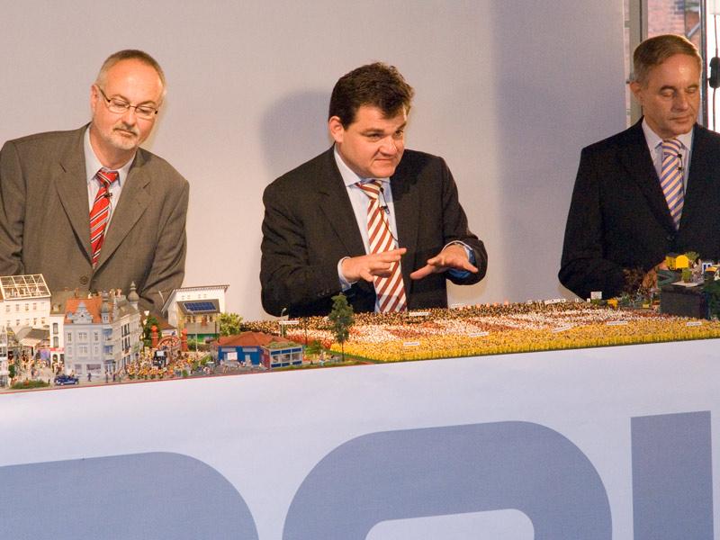 Marcus Weinberg (CDU) und Ingo Egloff (SPD)