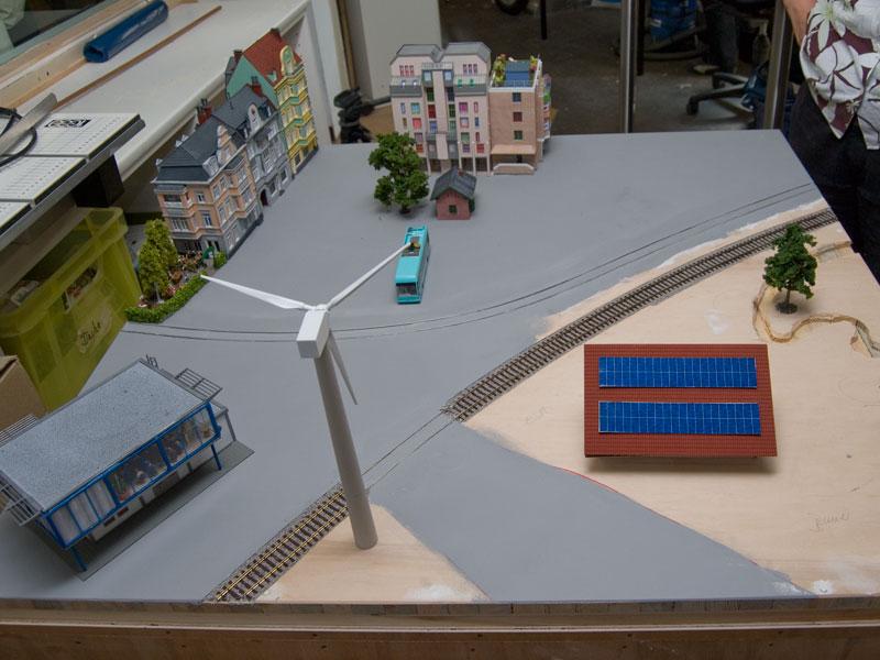 Diorama der Grünen in der KW31