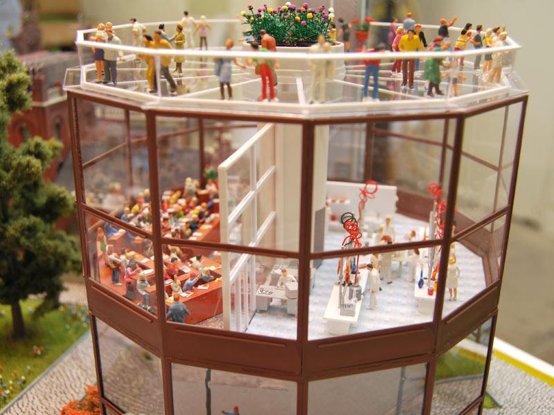 Vorlesungssaal im FDP-Diorama