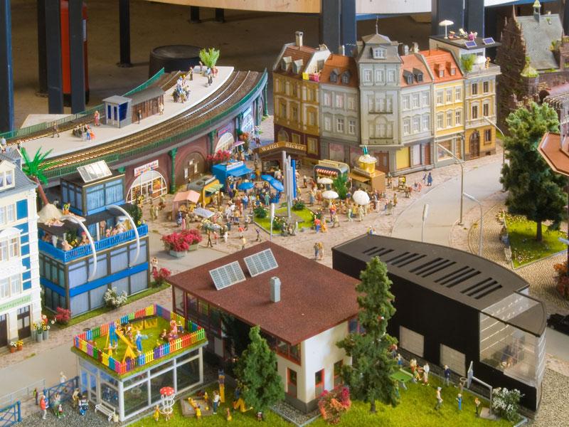 Diorama der FDP